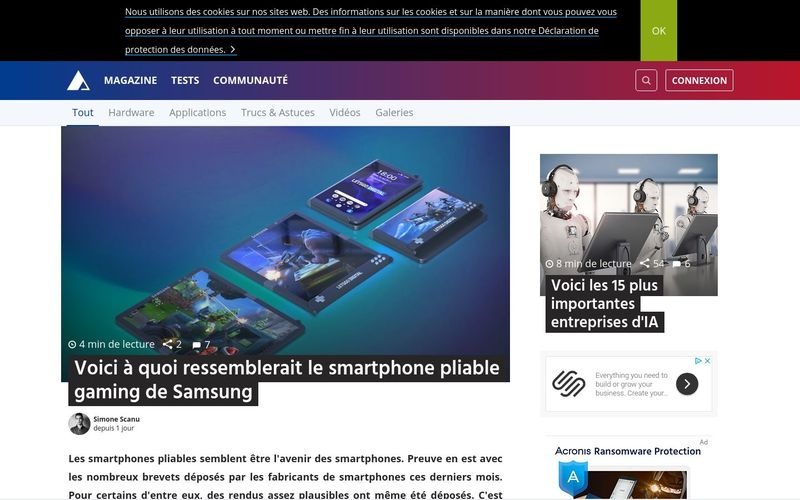 Voici le smartphone pliable gaming de Samsung | AndroidPIT