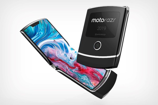 Le smartphone pliable de Motorola : le RAZR