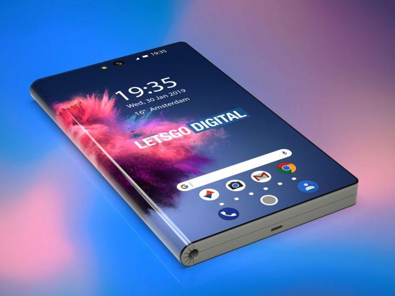 Smartphone pliable Huawei, en mode smartphone