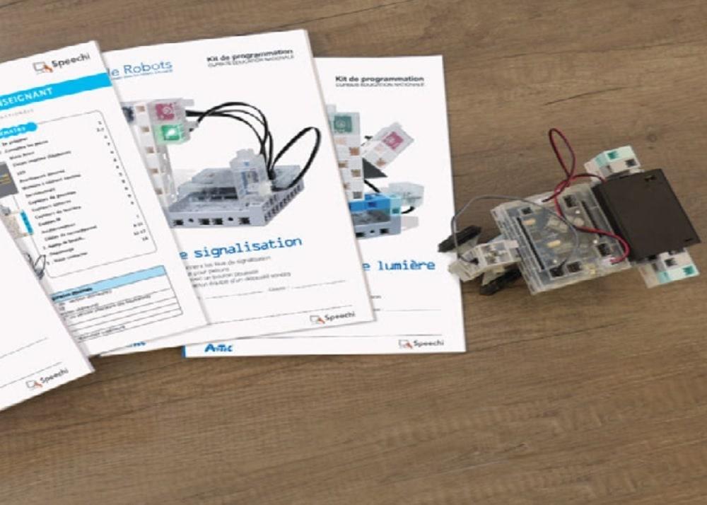 Monter et programmer son robot soi-même